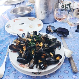 Dish of the day - Mussels in white wine